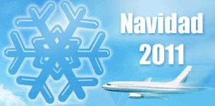 Navidad 2011 Ofertas de última hora vuelos para Nochevieja