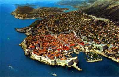 dub ciudad Destinos de playa en Croacia: Dubrovnik