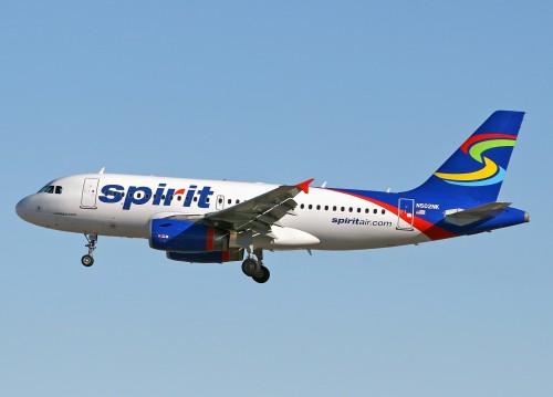 spirit airlines 500x359 Spirit Airlines   low cost. Destinos y cobertura en América